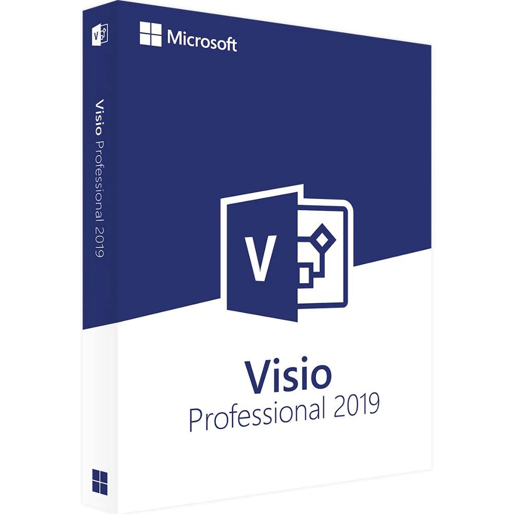 Licencia Microsoft Office Visio 2019
